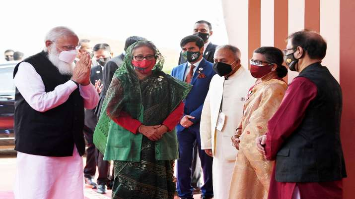 PM Modi glorified with his presence during pandemic Sheikh Hasina  Bangladesh latest news | India News – India TV