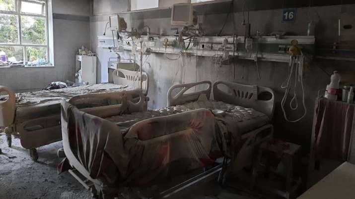 Safdarjung Hospital fire
