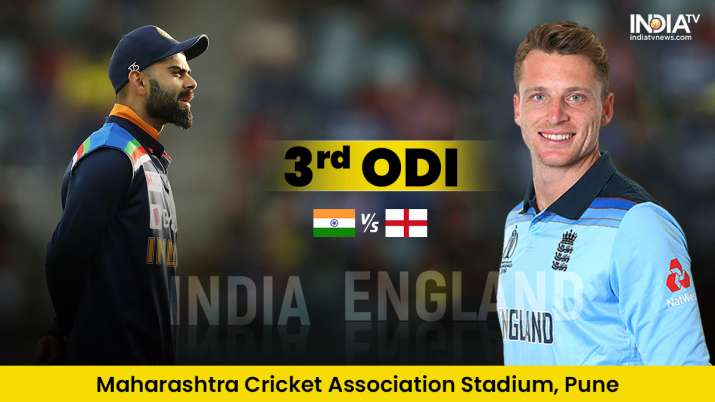 Live Score India vs England 3rd ODI: Live Updates from Pune