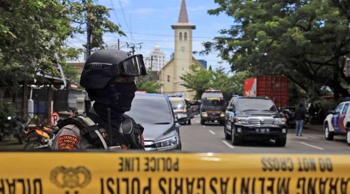 Suicide bomber targets Mass in Indonesia, several hurt