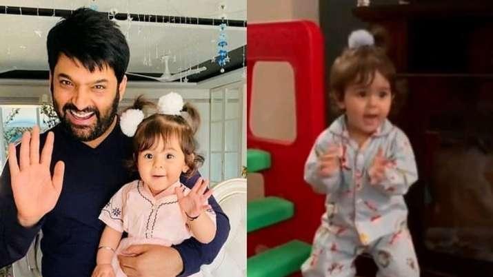 Kapil Sharma's 'rockstar' daughter Anayra grooves to Honey Singh's Jingle Bell song