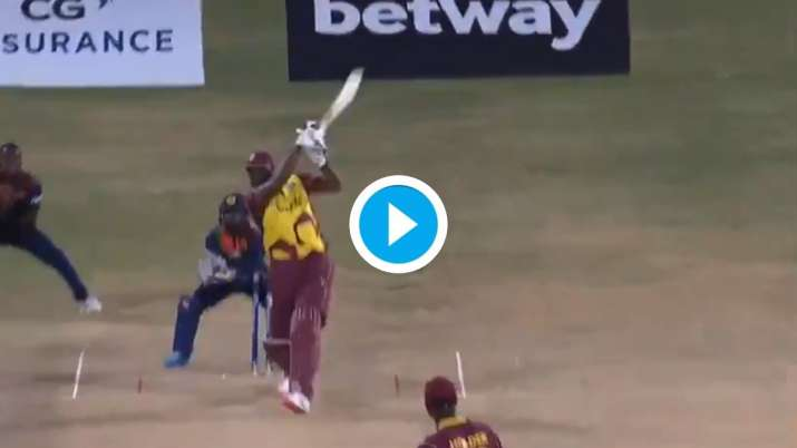 WI vs SL: Kieron Pollard smashes six sixes in an over; becomes second after Yuvraj to reach feat in T20Is - India TV News