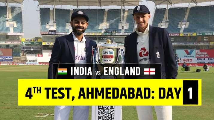 ציון חי הודו מול אנגליה יום המבחן הרביעי 1: עקוב אחר עדכוני הכדור אחר הכדור מ- IND מול ENG יום הבדיקה הרביעי