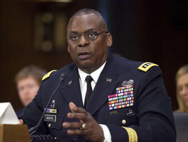 US Defence Secretary Lloyd Austin