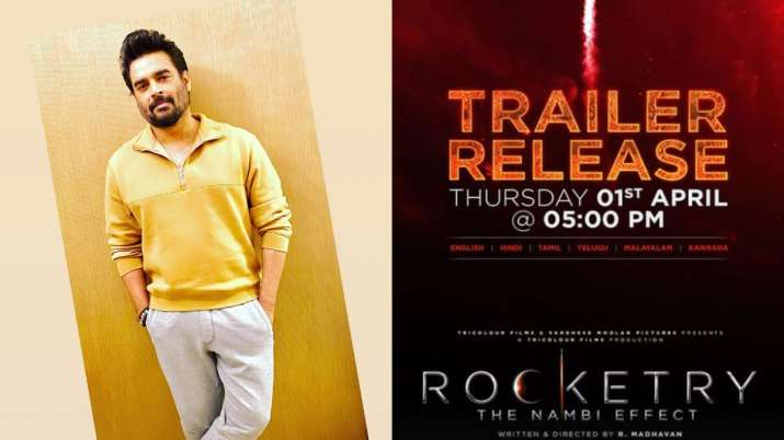 R Madhavan's 'Rocketry: The Nambi Effect' trailer to release on THIS date