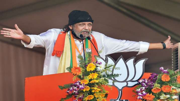 Bengal polls 2021, mithun chakraborty, bjp