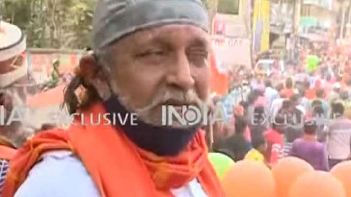 BJP leader Mithun Chakraborty says people want change in