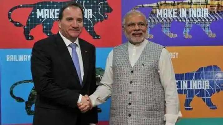 PM Modi to hold virtual summit with Swedish counterpart Stefan Löfven today