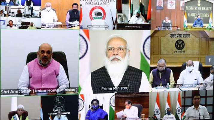 Amid concerns over rising coronavirus cases in India, PM Narendra Modi will interact with the Chief Ministers on COVID-19, vaccination issues.