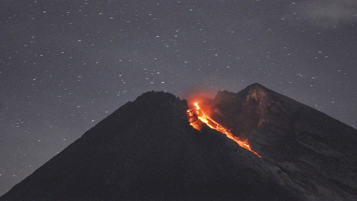 Indonesia's Mount Merapi volcano