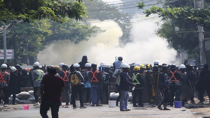 Myanmar protest deaths security forces continue crackdown on protesters