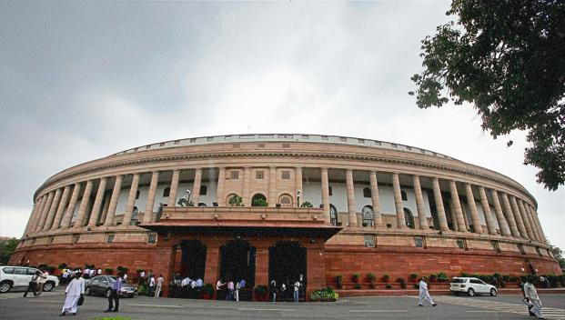 Lok Sabha adjourned for day as Opposition protests over