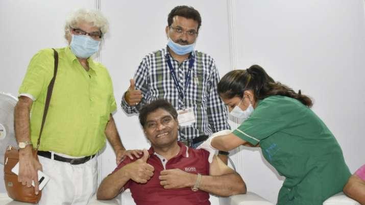 Johnny lever, COVID-19 vaccine
