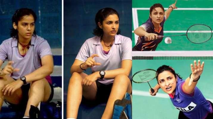 Parineeti Chopra mirrors Saina Nehwal as she steps into the shoes of ace  badminton player   Celebrities News – India TV