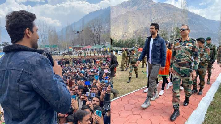 Vicky Kaushal pens heartfelt note as he visits Indian Army base camp in Uri; see pics