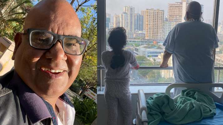 Satish Kaushik hopes for COVID-19 free world, shares heartwarming picture with daughter