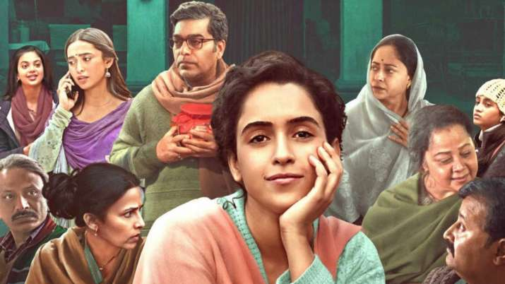 Pagglait film review: Small town family drama of a widow taking wing
