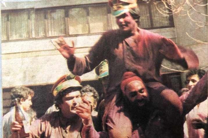 Neetu Kapoor, Rishi Kapoor, Amitabh Bachchan