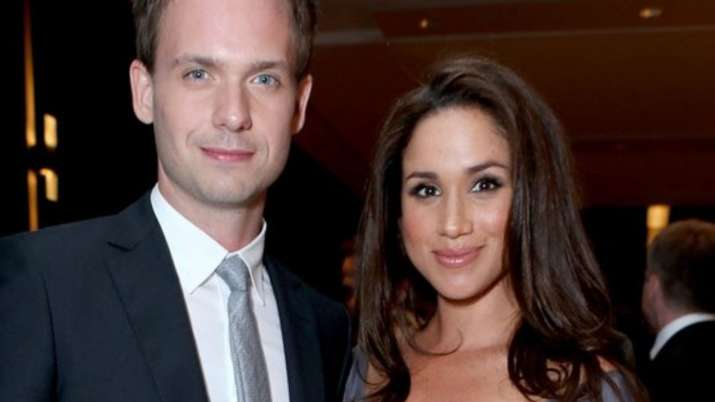 Meghan Markle's Suits co-star Patrick J Adams defends her against Buckingham Palace's attack