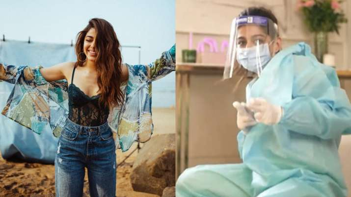 Alaya F takes internet by storm with Buss It Challenge; Ayushmann Khurrana can't stop laughing