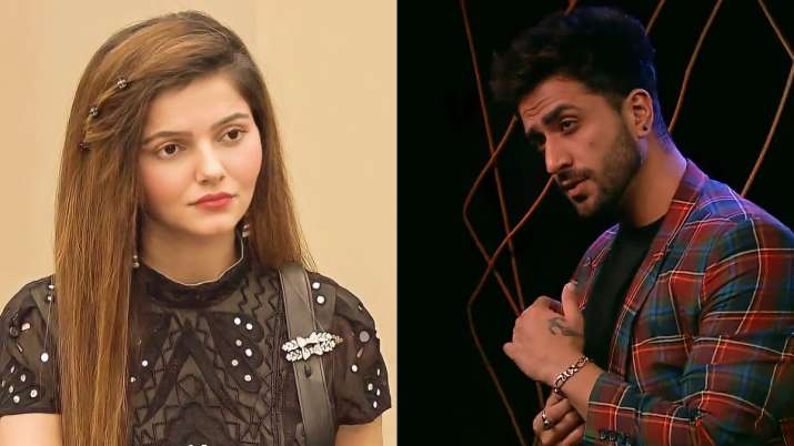 Aly Goni lashes out at Rubina Dilaik's fans for asking people to dislike Tera Suit video