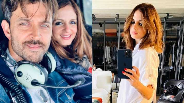 Hrithik Roshan's cute reaction to Sussanne Khan's 'I think I am a boy' post will melt your heart