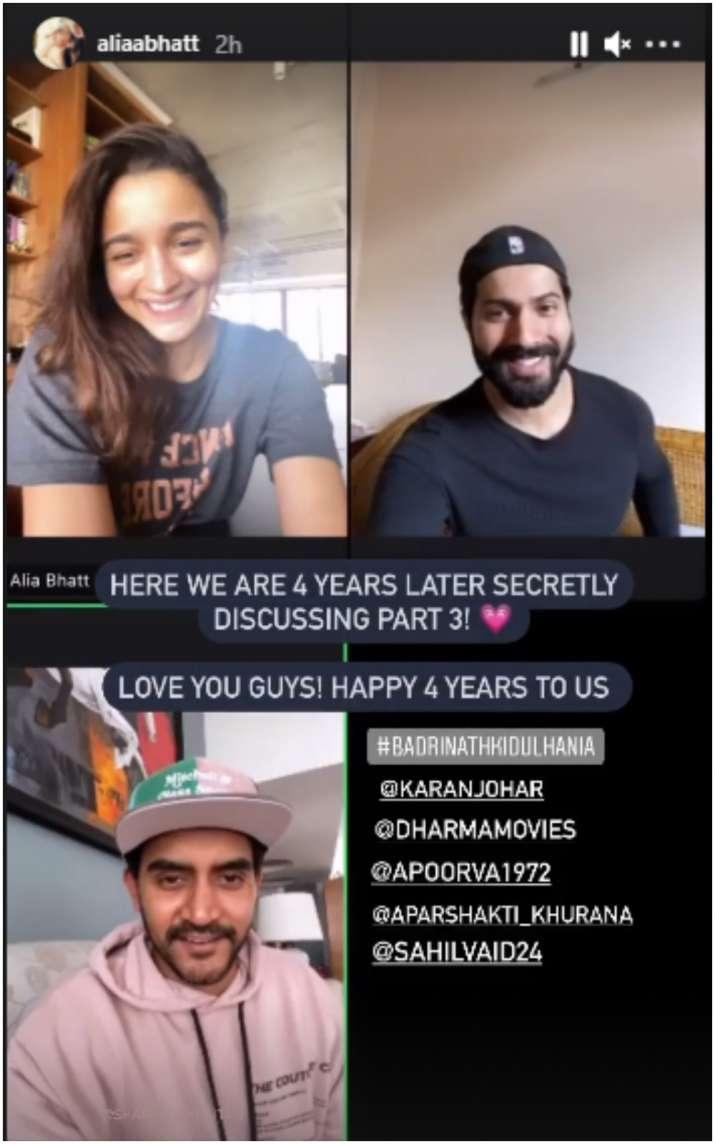 India Tv - Alia Bhatt, Varun Dhawan