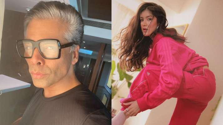 Netizens say 'nepotism at its finest', as Karan Johar announces first film with Shanaya Kapoor