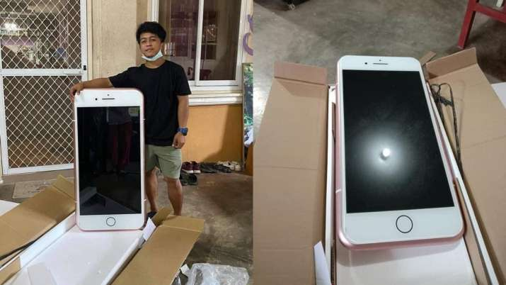 Teen boy orders cheap iPhone, receives iPhone shaped coffee