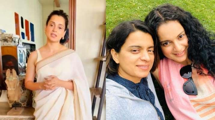 Watch: Kangana Ranaut thanks all for National Award win; sister Rangoli says 'Best birthday gift'