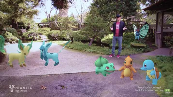Microsoft has Pokemon Go running on its HoloLens 2 augmented reality (AR) headset.