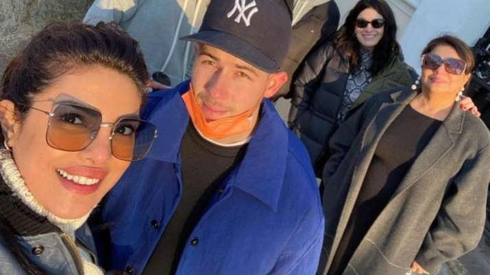 Global icon Priyanka Chopra on Sunday reunited with her family in London. The actress shared picture