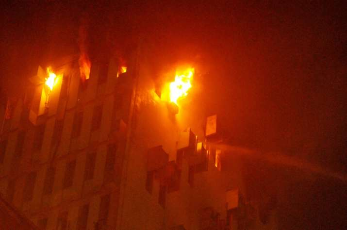 kolkata fire