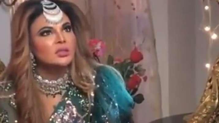 Rakhi Sawant starts shooting for her digital debut Tawaif Bazaar-E-Husn