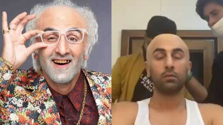 How Ranbir Kapoor turned into a quirky old man   See transformation pics