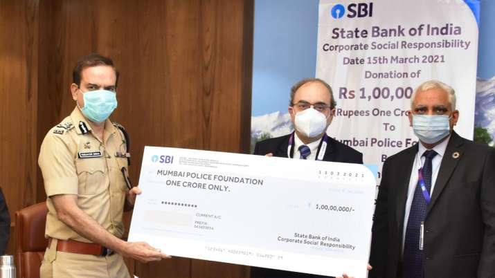 sbi, mumbai police foundation