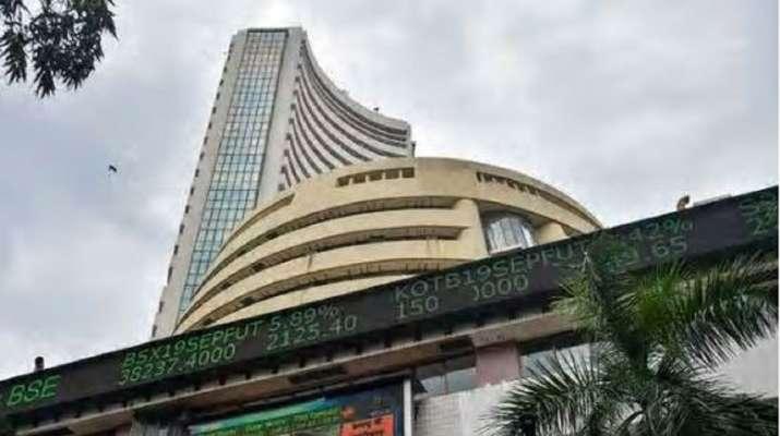 Sensex up 500 points