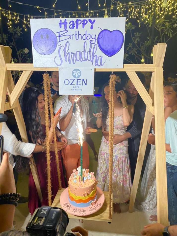 Unseen Pics | Shraddha Kapoor celebrates birthday with rumoured beau Rohan  Shrestha and her family in Maldives | Celebrities News – India TV