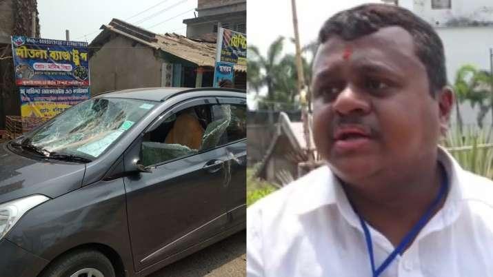 Soumendu Adhikari attacked, TMC, BJP, Contai, Bengal phase 1 polling
