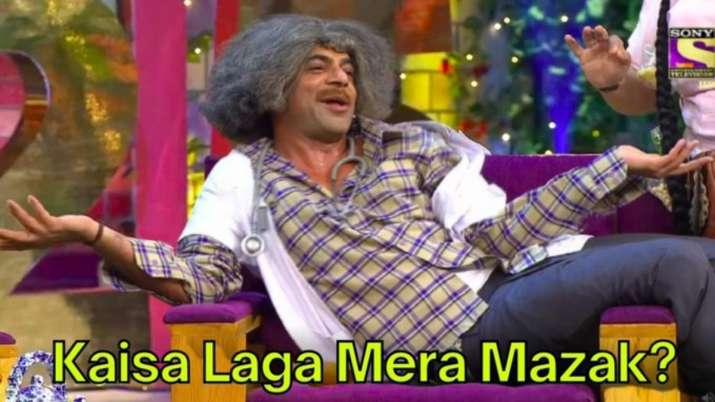 Sunil Grover's late Holi wish leaves netizens in splits