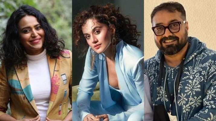 Swara Bhasker, Taapsee Pannu and Anurag Kashyap