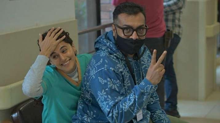 Taapsee Pannu wraps shooting of Anurag Kashyap directorial 'Dobaaraa'