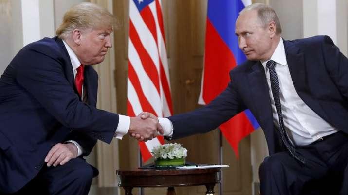 Vladimir Putin, Donald Trump, Joe Biden