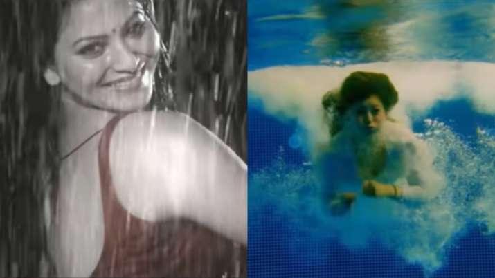 Urvashi Rautela to recreate Madhubala's magic in upcoming song 'Ek Ladki Bheegi Bhaagi Si.' Watch pr