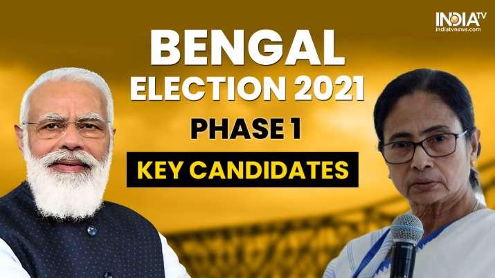 Bengal Polls 2021, bengal polls key candidates