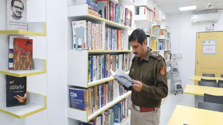 India Tv - Delhi Police public library initiative earns accolades