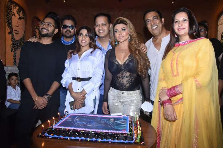 India Tv - Rakhi Sawant hosts a get-together for fellow BB14 contestants