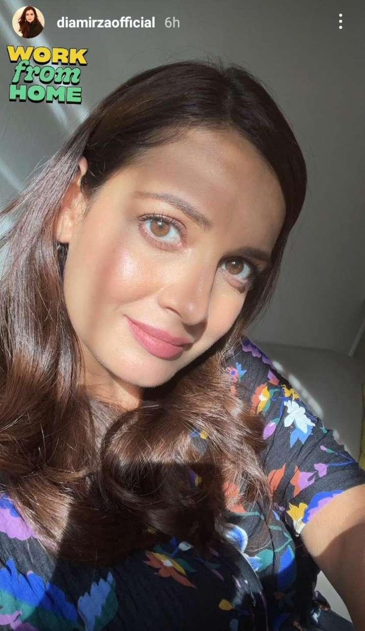 India Tv - Dia Mirza's latest post
