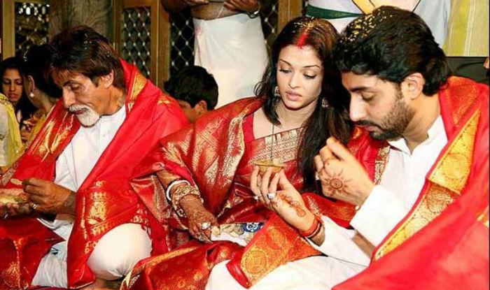 India Tv - Aishwarya and Abhishek's romantic pictures on their 14th wedding anniversary