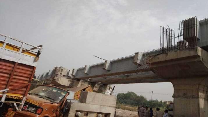 Under-construction Bridge, Collapse, Delhi, Punjabi Bagh, Death, rescue operation